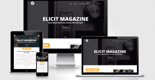 THE ELICITMAGAZINE DESIGN